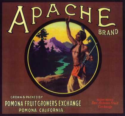 Apache Orange Label – Pomona, CA