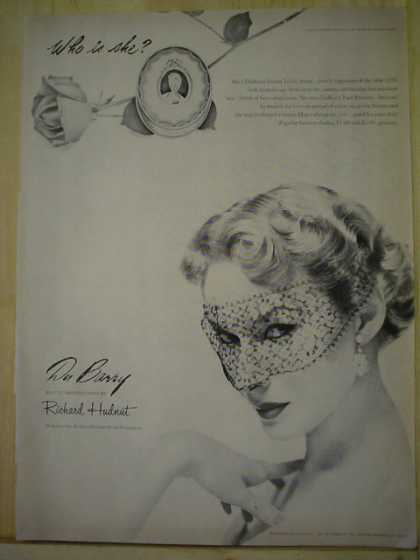 DuBarry Richard Hudnut Makeup (1950)