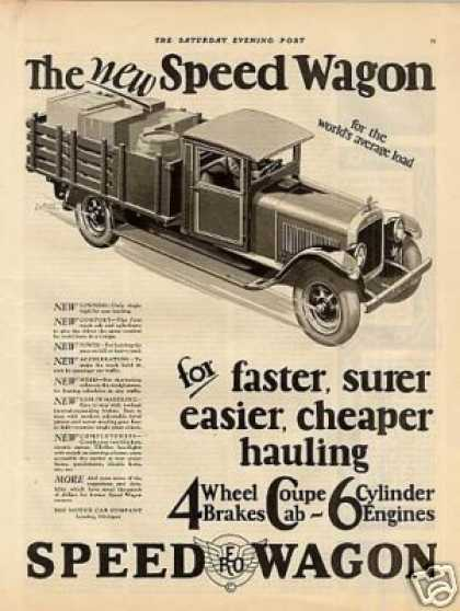 Reo Speed Wagon Truck (1927)