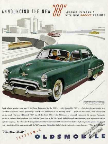 "Announcing the New Oldsmobile ""88"" Car (1949)"