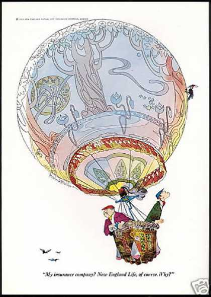New England Insurance Hot Air Balloon Wilson (1969)