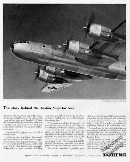 The Story Behind the B-29 Super Fortress Boeing (1944)