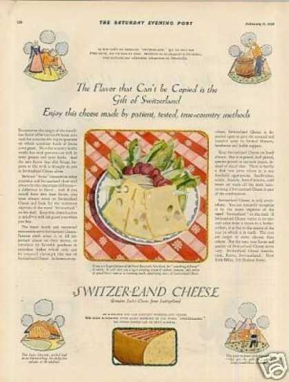 Switzerland Cheese (1928)