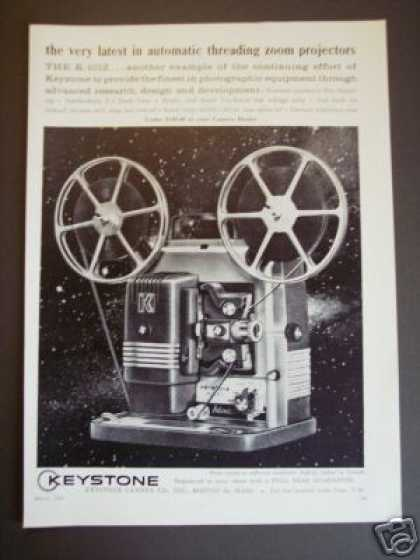 Keystone Camera Zoom Movie Projector (1961)