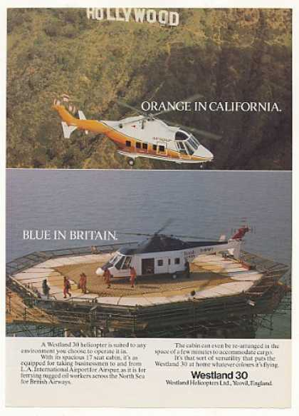 Airspur British Airways Westland 30 Helicopter (1983)