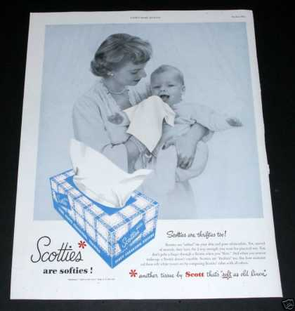 Scotties Are Softies, Tissues (1950)