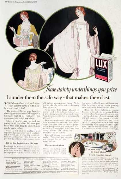 Lux Soap (1923)