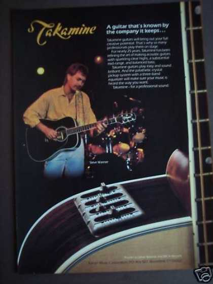 Steve Wariner Takamine Guitars Music (1986)