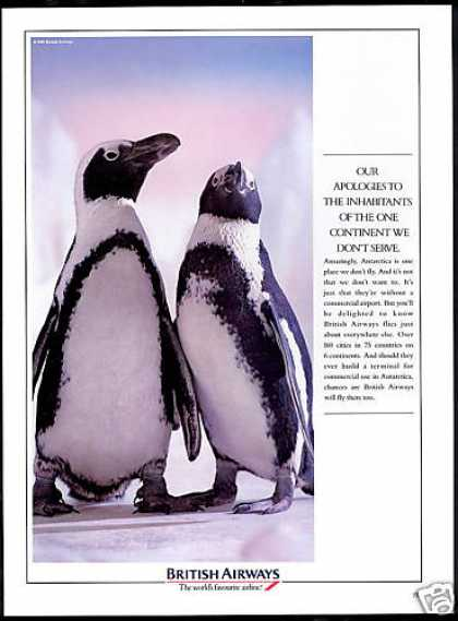 British Airways Don't Serve Antarctica Penguins (1990)