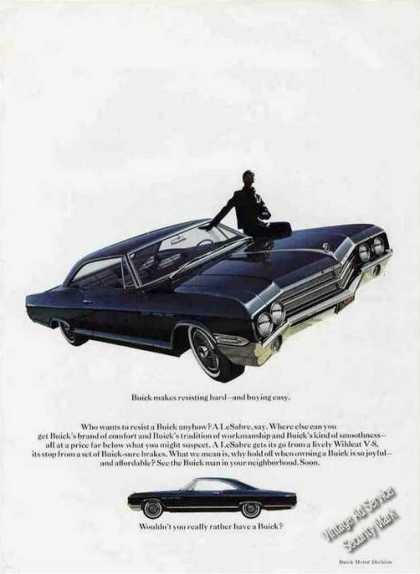 Buick Lesabre Dramatic Photo Collectible Car (1965)