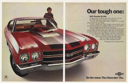 Chevy Chevelle SS 396 Our Tough One (1970)