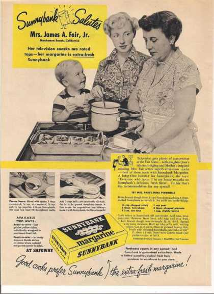 Margarine By Sunnybank (1951)