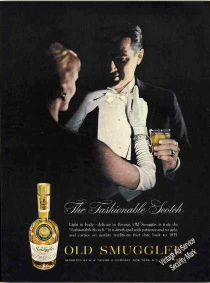 "Old Smuggler ""The Fashionable Scotch"" Dramatic (1960)"