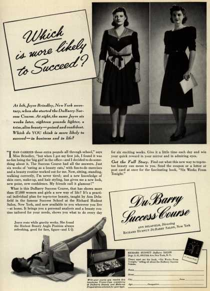 Richard Hudnut's Du Barry Success Course – Which is more likely to Succeed? (1941)