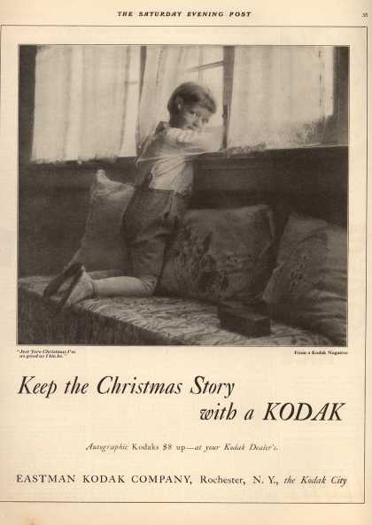 Kodak – Keep the Christmas Story with a Kodak (1921)