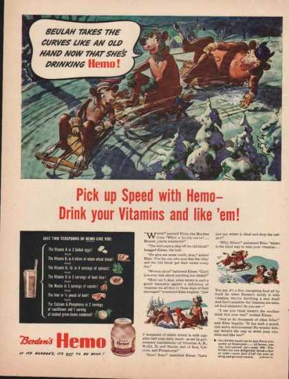 Bordens Hemo Pick Up Speed (1944)