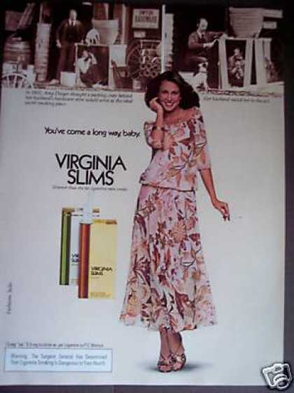 Long Way, Baby Virginia Slims Cigarette (1979)