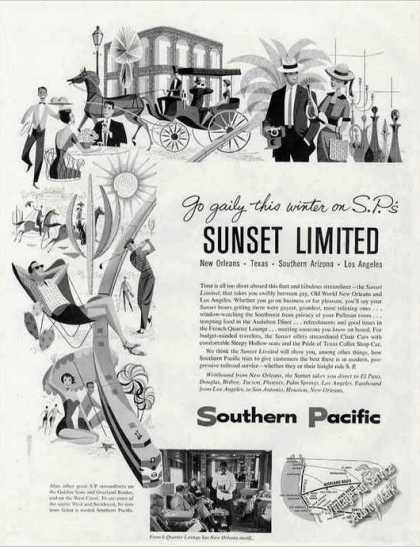 Sunset Limited Collectible Southern Pacific Rr (1957)