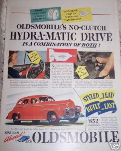 Oldsmobile Hydra-matic Drive Red Olds Special (1940)