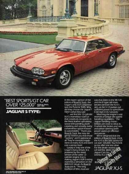 Jaguar Xj-s Photos Color Car (1985)