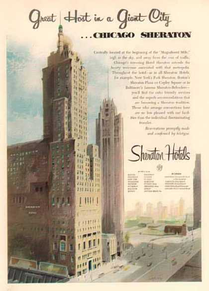 Chicago Sheraton (1952)