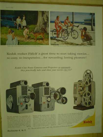 Kodak Movie camera and projector (1959)