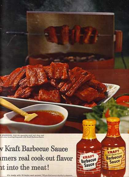 Kraft's Regular Barbecue Sauce (1962)