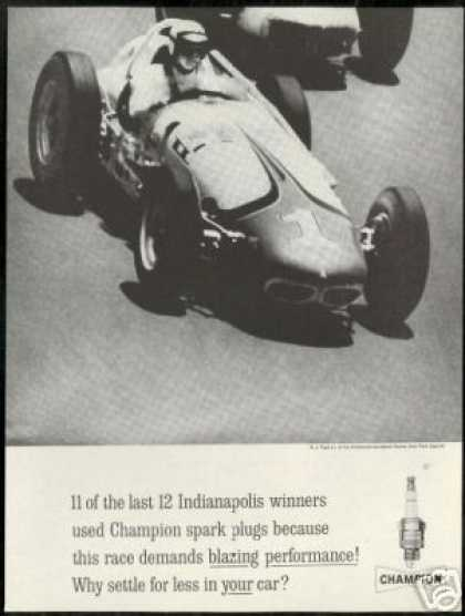 AJ A.J Foyt Jr Race Car Photo Indy 500 Champion (1961)
