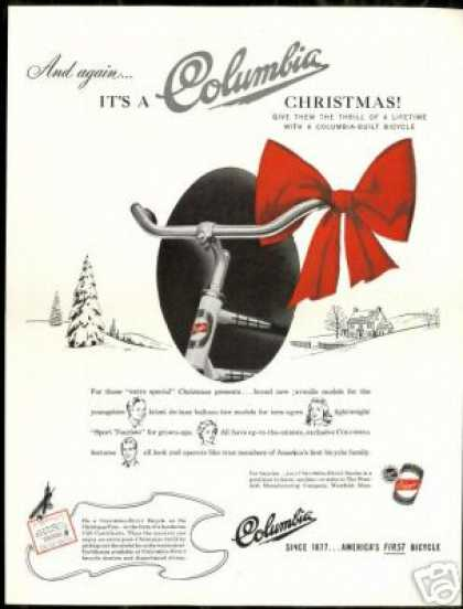 Columbia Bicycle Bike Vintage (1946)