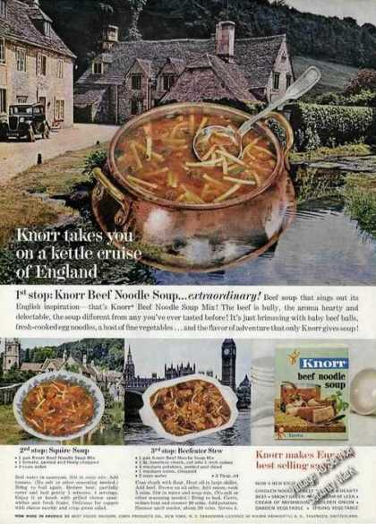 Knorr Soups Kettle Cruise of England (1962)