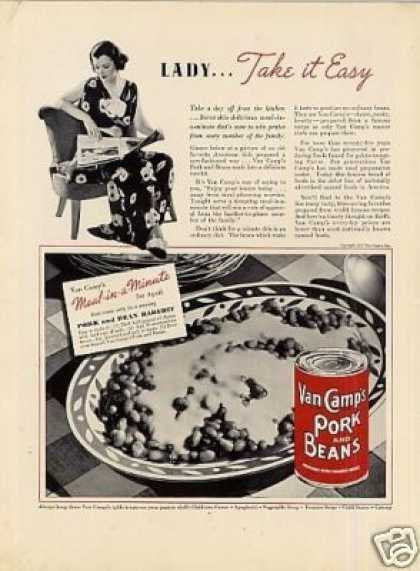 Van Camp's Pork and Beans (1937)