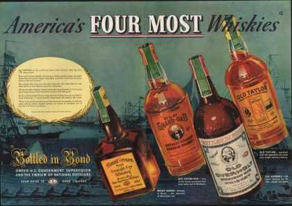 Americas Four Most Whiskies (1938)