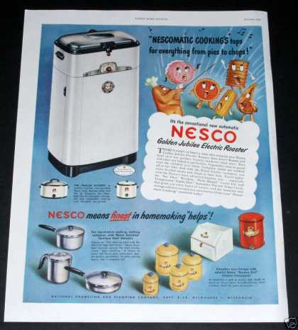 Nesco Roaster, Golden Jubilee (1949)