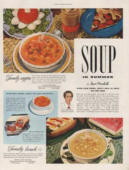 Campbells Soup In Summer (1950)