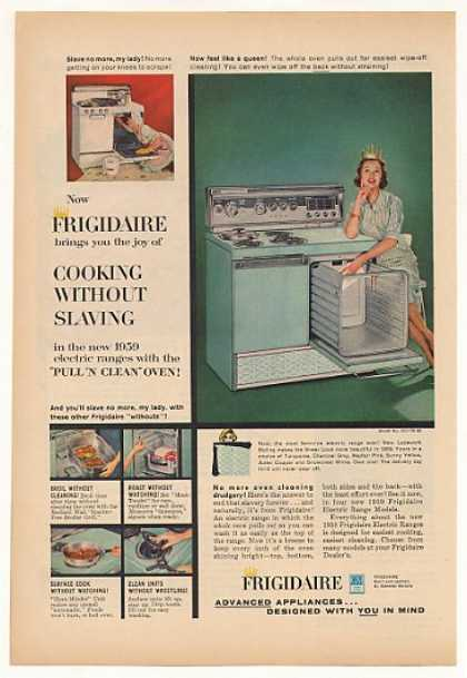 Frigidaire Electric Range Model RCI-75-59 (1959)