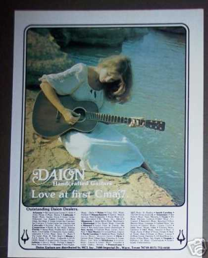 Daion Handcrafted Guitars Photo (1981)