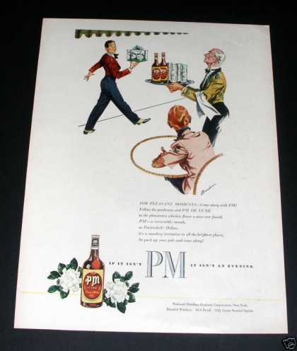 Pm Deluxe Blended Whiskey (1946)
