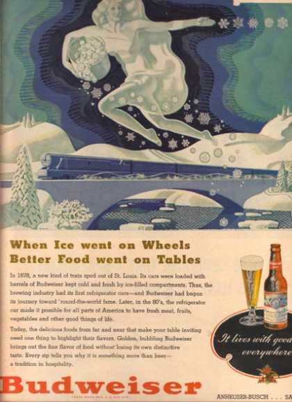 """When Ice went on Wheels Better Food went on Tables"" (1948)"