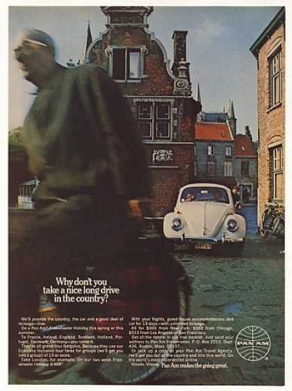 Pan Am Airlines Freewheeler Holiday VW Beetle (1969)