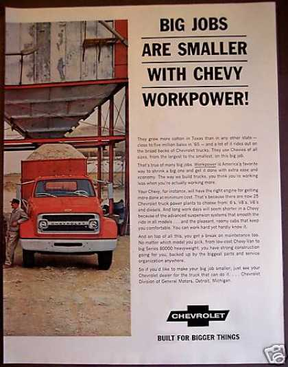Chevy Workpower! Chevrolet Trucks (1966)