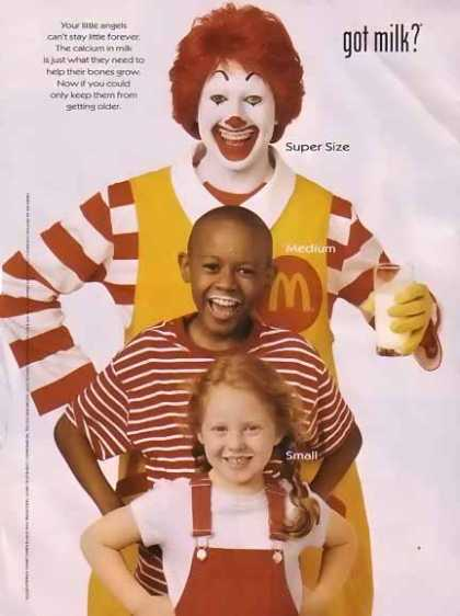 Ronald McDonald – GOT MILK (2001)