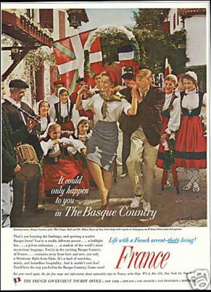 France French Travel Basque Country Dance (1959)