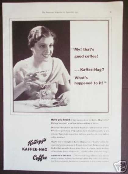 Kelloggs Kaffee-hag Coffee Rare (1933)