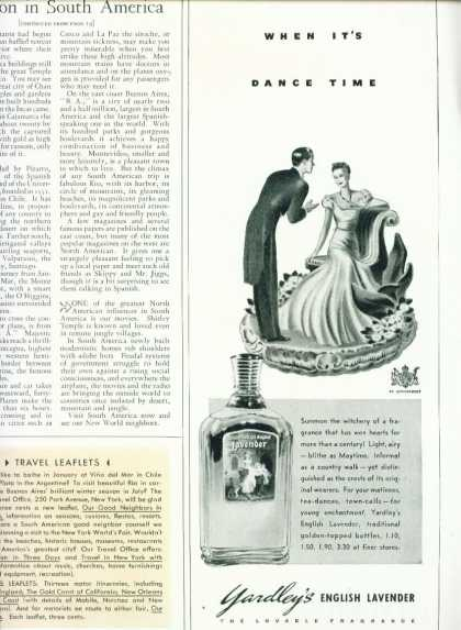 Yardley's English Lavender 1/2 Page (1939)