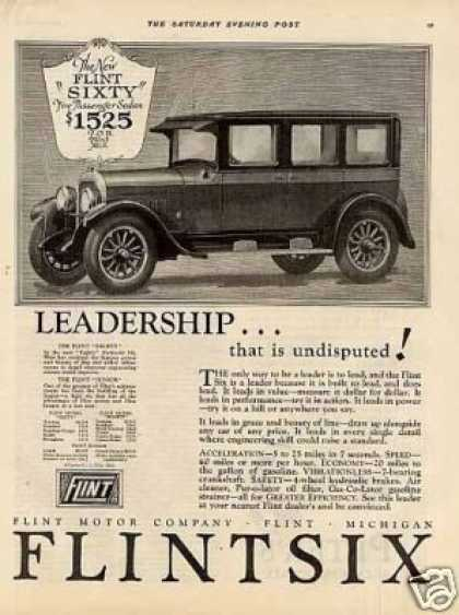 Flint Sixty Five-passenger Sedan (1926)
