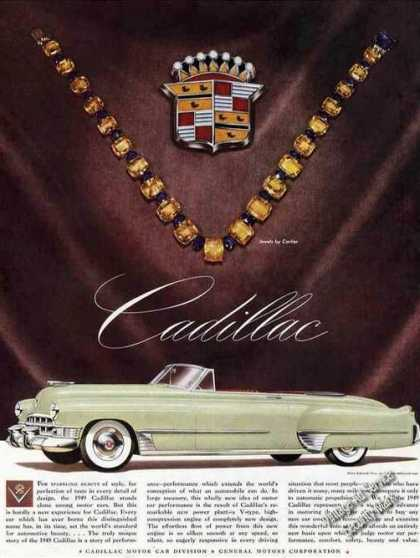 Cadillac Convertible Jewels By Cartier (1949)