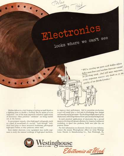 Westinghouse Electric & Manufacturing Company's Various – Electronics looks where we can't see (1944)