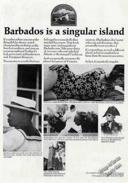 """Barbados Is a Singular Island"" Travel (1964)"