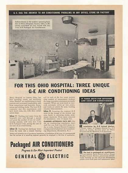 '55 Mercy Hospital OR Canton Ohio GE Air Conditioner (1955)