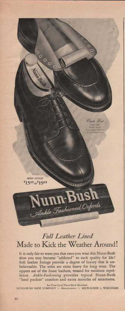Nunn Bush Ankle Oxford Mens Shoes (1949)